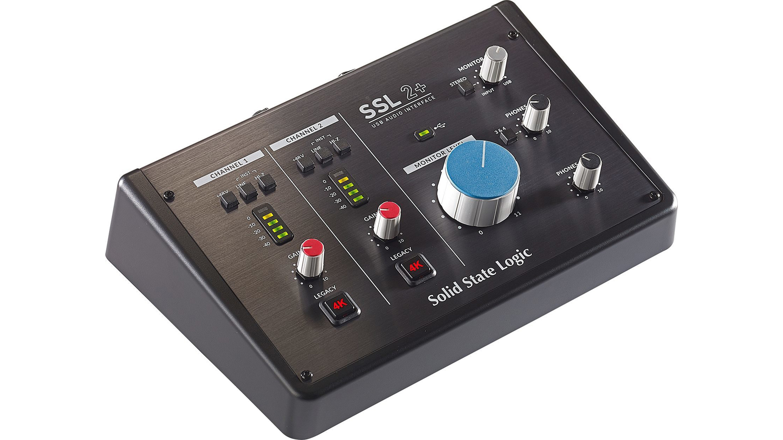 Solid State Logic SSL 2+  2 In/4 Out USB-C Audio Interface