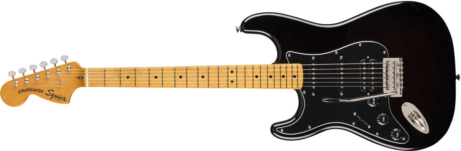 Squier Classic Vibe 70s Stratocaster HSS LH MN BLK