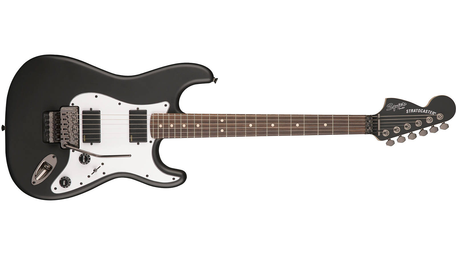 Squier Contemporary Active Stratocaster HH RW FBK