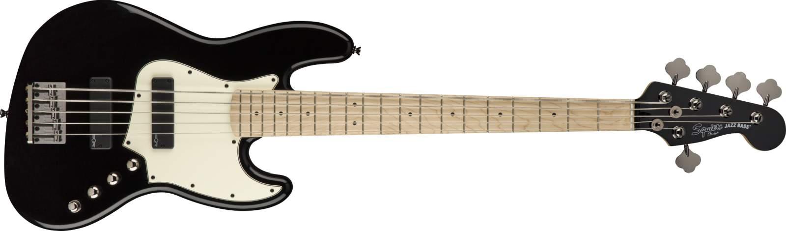 Squier Contemporary J-Bass V HH MN Black