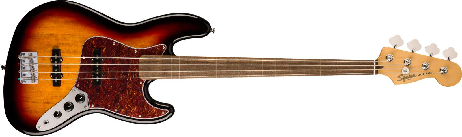 Squier Classic Vibe 60s Jazz Bass LRL 3TS Fretless