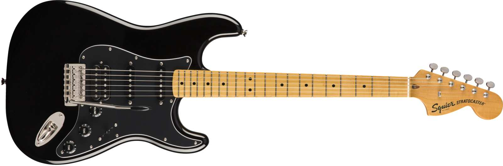 Squier Classic Vibe 70s Stratocaster HSS MN BLK
