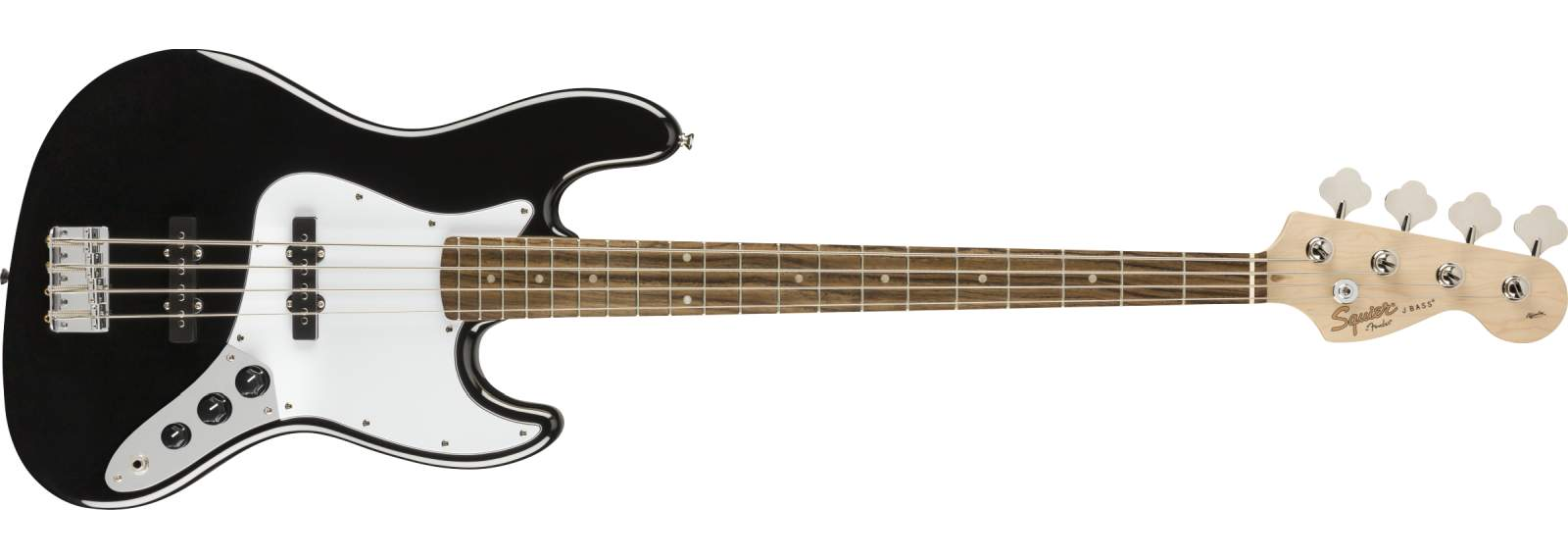 Squier Affinity J-Bass LRL Black