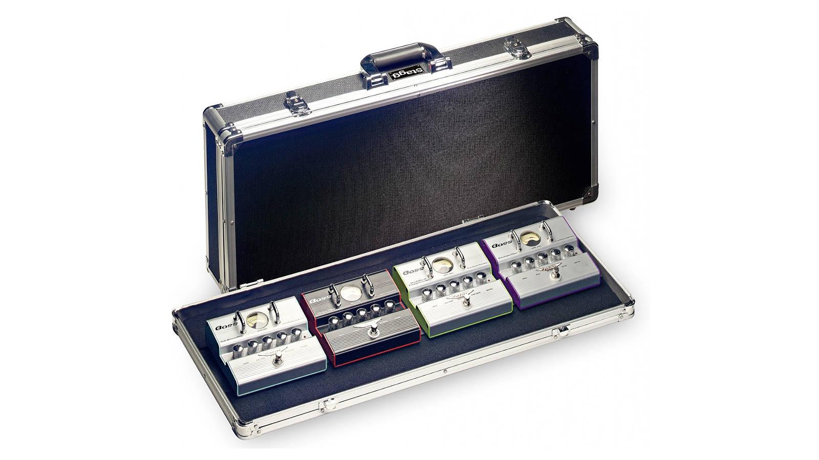 Stagg UPC-688 ABS Koffer für Gitarreneffekte