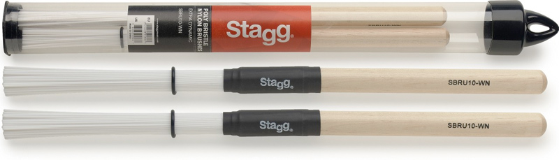 Stagg SBRU10-WN Nylon Brushes