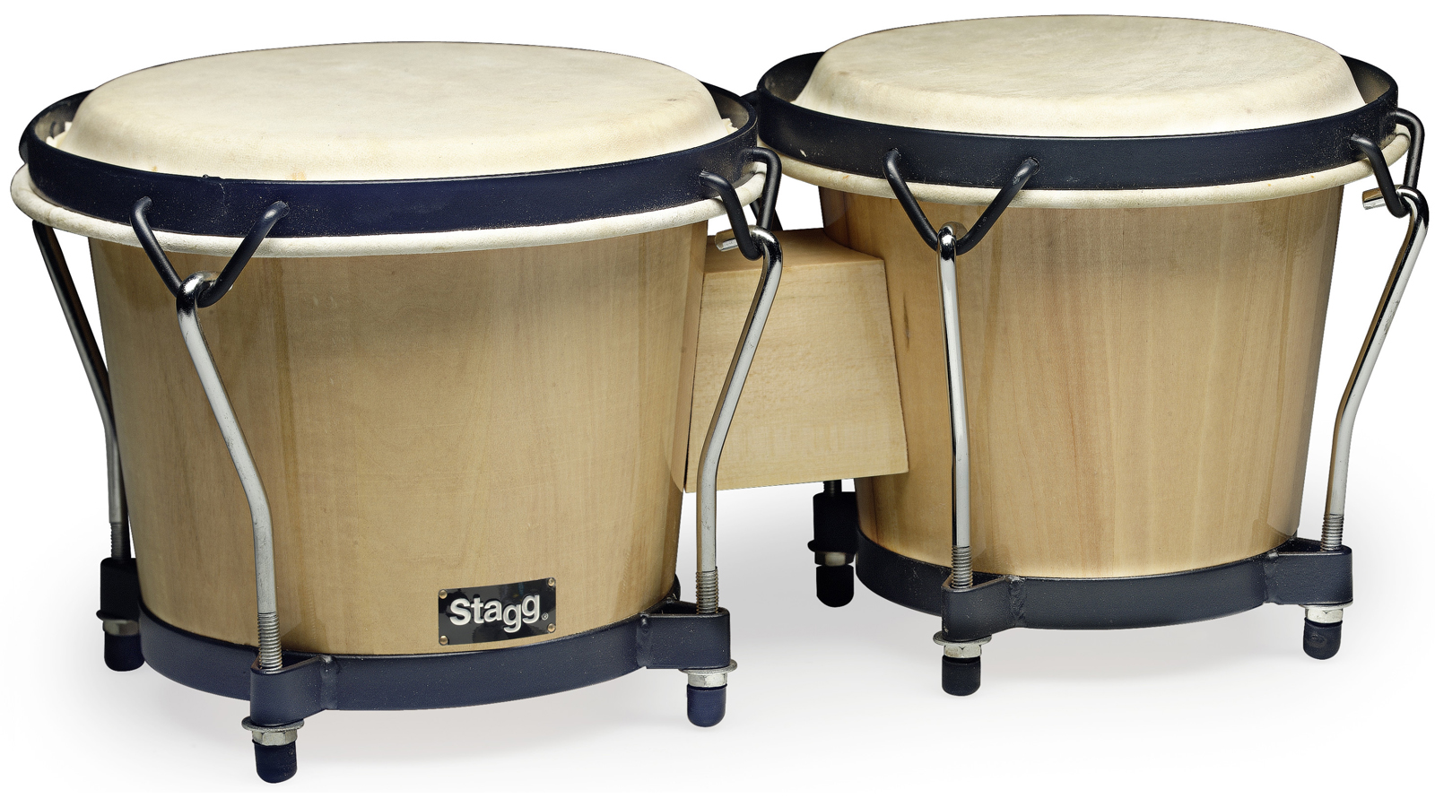 Stagg BW-70-N Bongo Set 6'' & 7'' natur mit Holzkessel