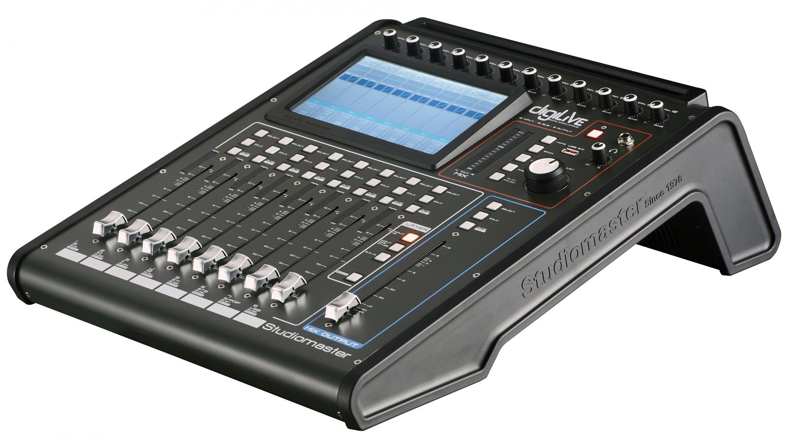 Studiomaster DigiLiVe16 Digital Mischpult 16 Inputs / 16 Outputs