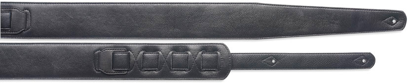 Stagg SLPL-10 BLK Ledergurt