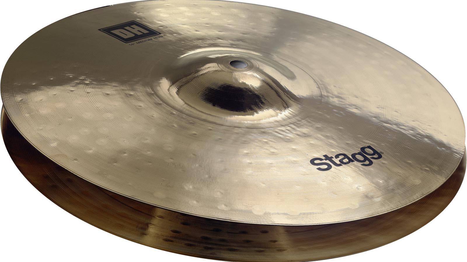 Stagg DH Brilliant Medium HiHat 10""
