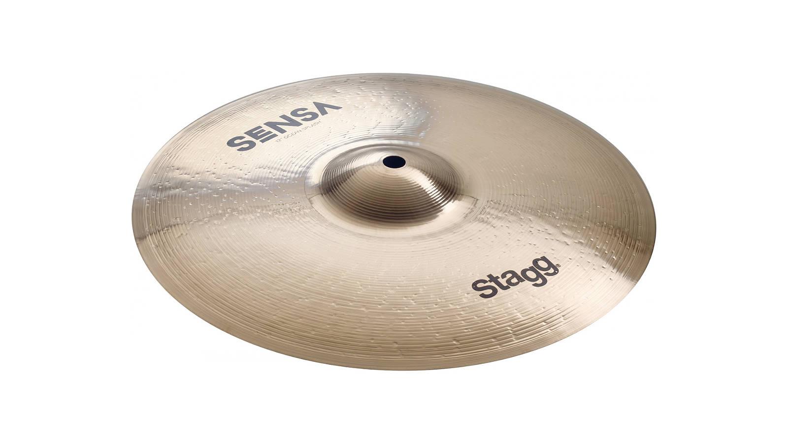 "Stagg SEN-SXT12B Sensa Ocean Splash 12"""