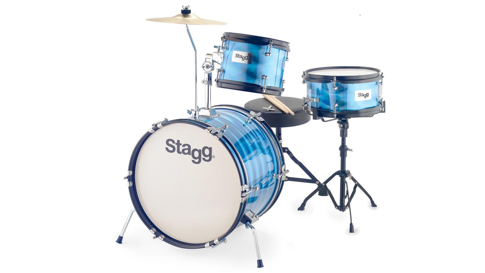 Stagg TIM JR 3/16B BL Junior Drumset
