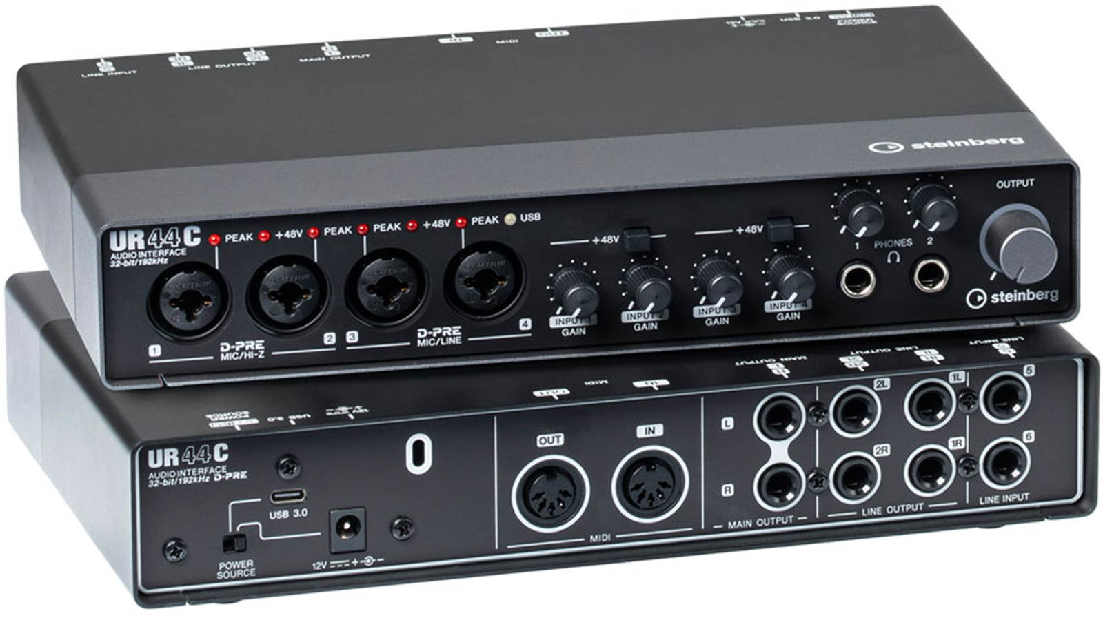 Steinberg UR44C USB 3 Audio Interface