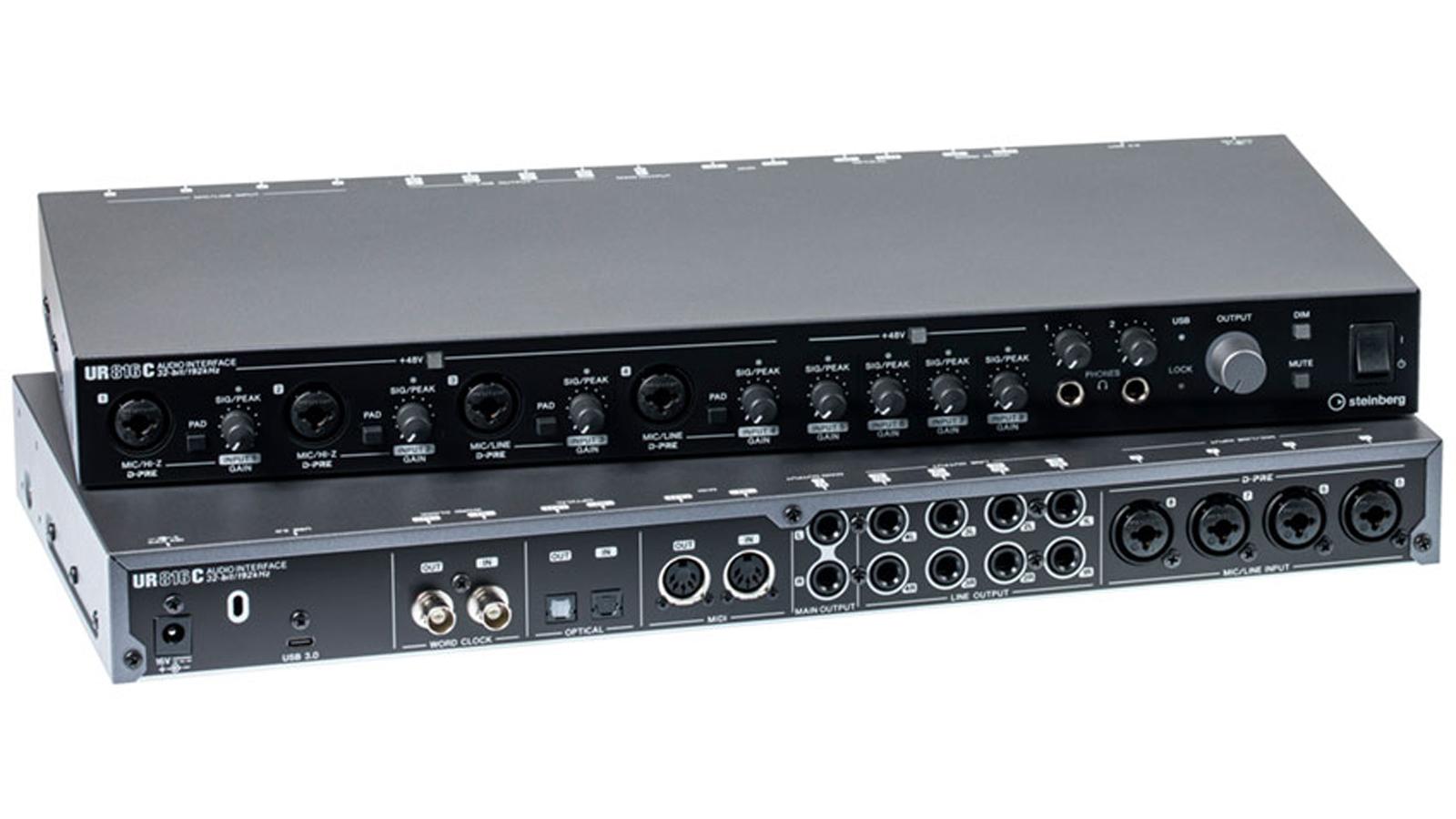 Steinberg UR816C USB 3 Audio Interface inkl. iPad Anschluss