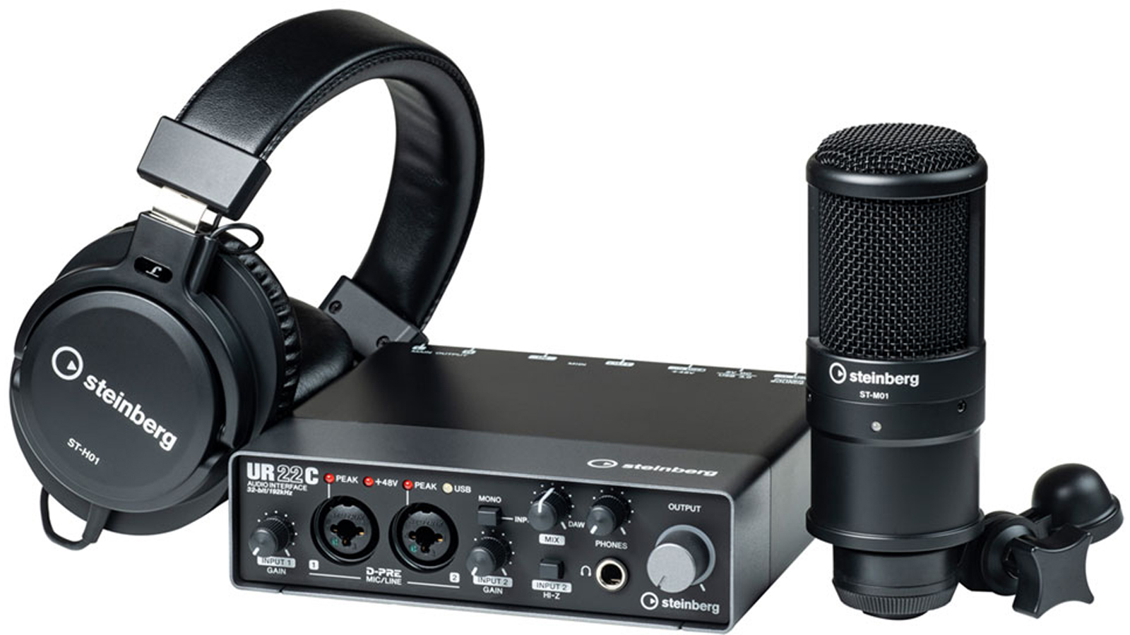 Steinberg UR22C Recording Pack inkl. iPad Anschluss