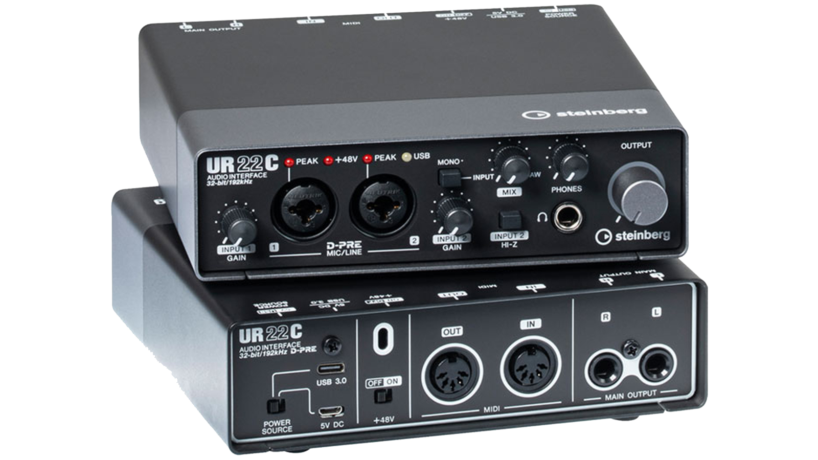 Steinberg UR22C USB 3 Audio Interface inkl. iPad Anschluss