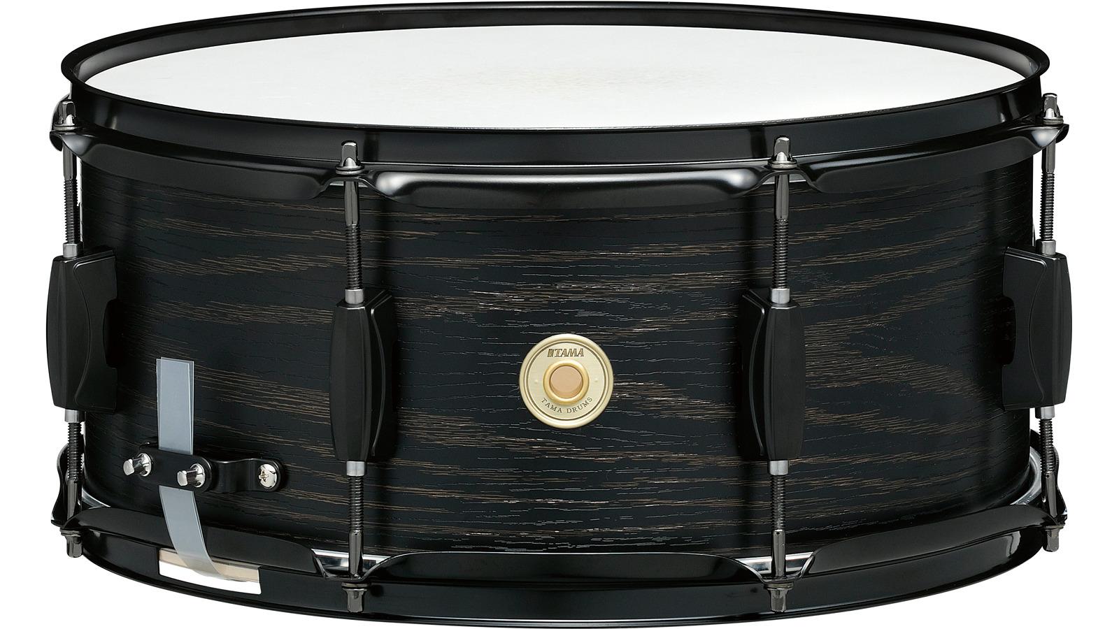 Tama WP1465BK-BOW 14 x 6,5 Woodworks Snare Drum Black Oak Wrap