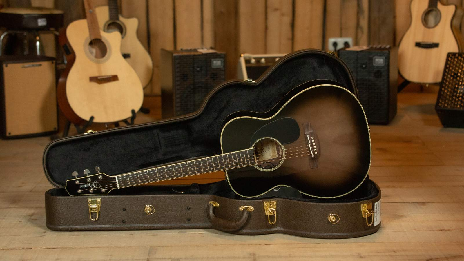 Takamine Custom Ltd. OM TBS