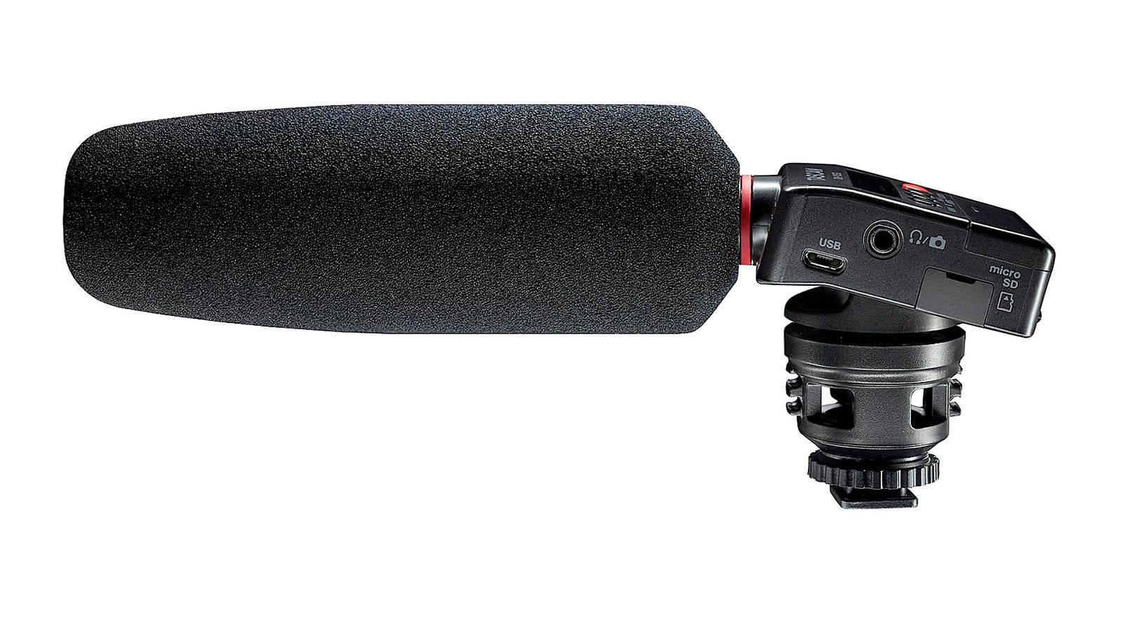 Tascam DR-10SG Audiorecorder mit Richtmikrofon