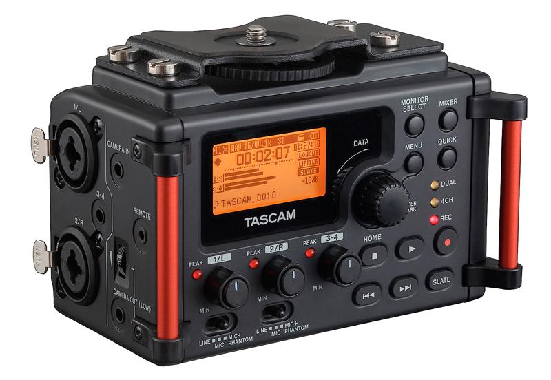 Tascam DR-60DMkII Audiorecorder