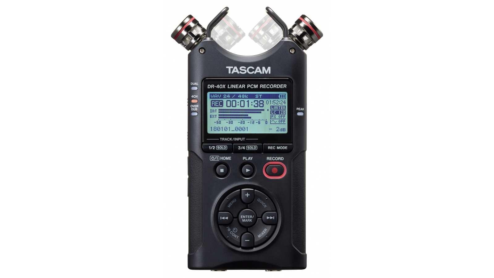 Tascam DR-40X Audiorecorder