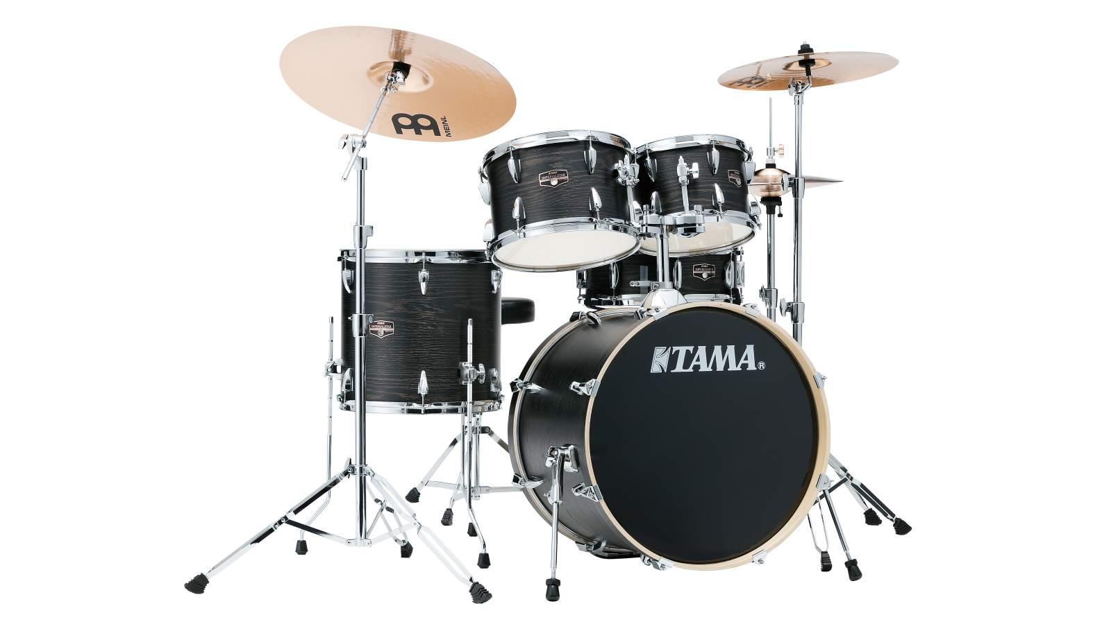 Tama IE50H6W-BOW Black Oak Imperialstar inkl. Hardware und Becken