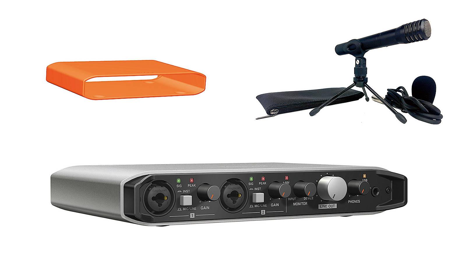 Tascam iXR-TP Recording Pack