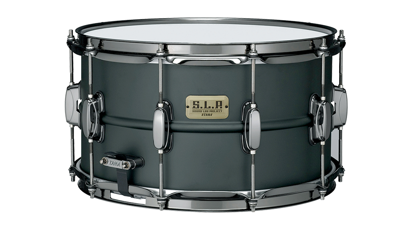 Tama LST158 S.L.P. Big Black Steel Snare 8x15