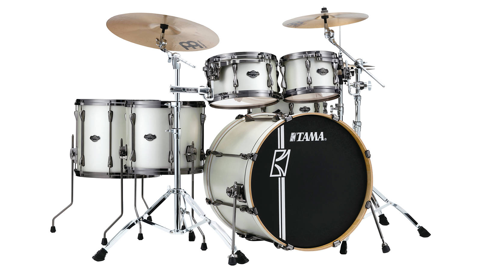Tama ML52HLZBN-SAP Superstar Hyper-Drive Maple Satin Arctic Pearl