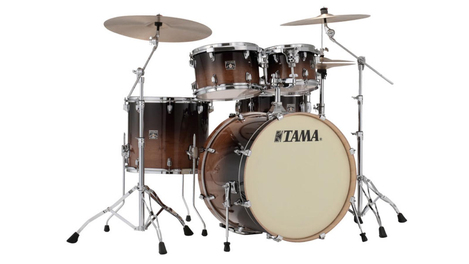 Tama Superstar Maple Coffee Fade