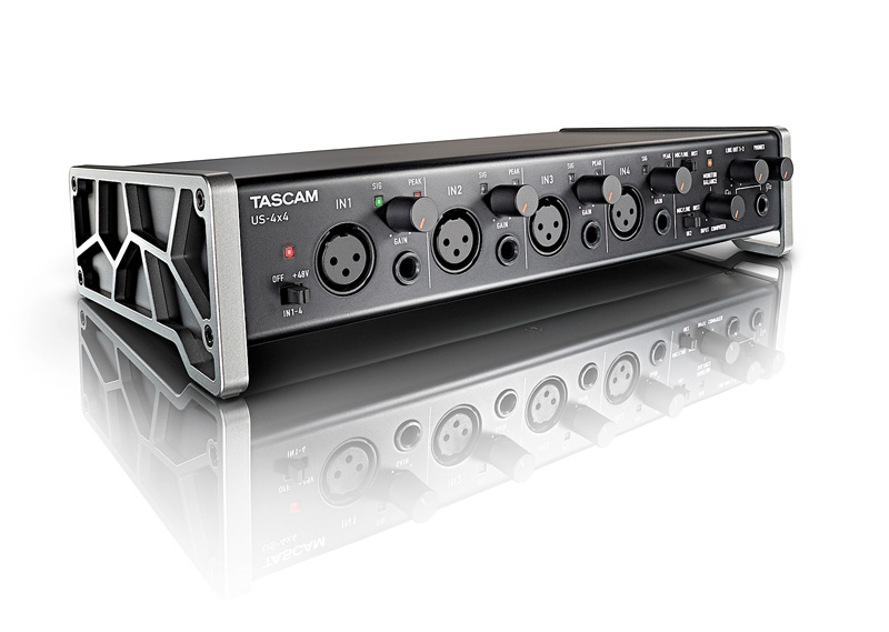 Tascam US-4x4 USB-Audio-MIDI-Interface