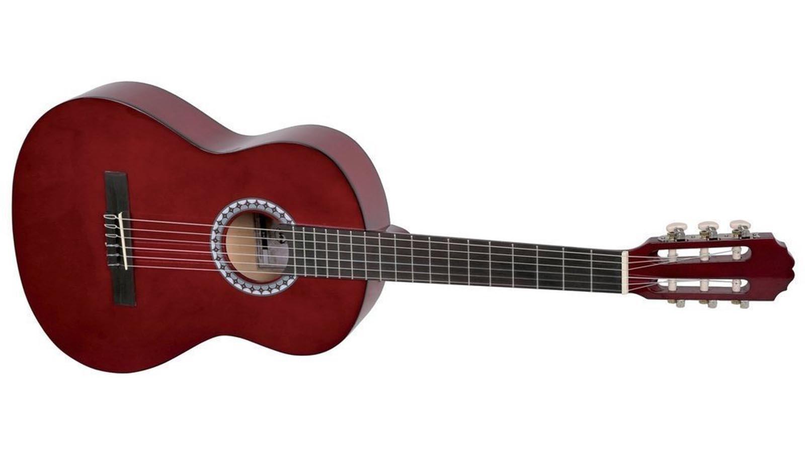 VGS Konzertgitarre 1/2 rot Basic