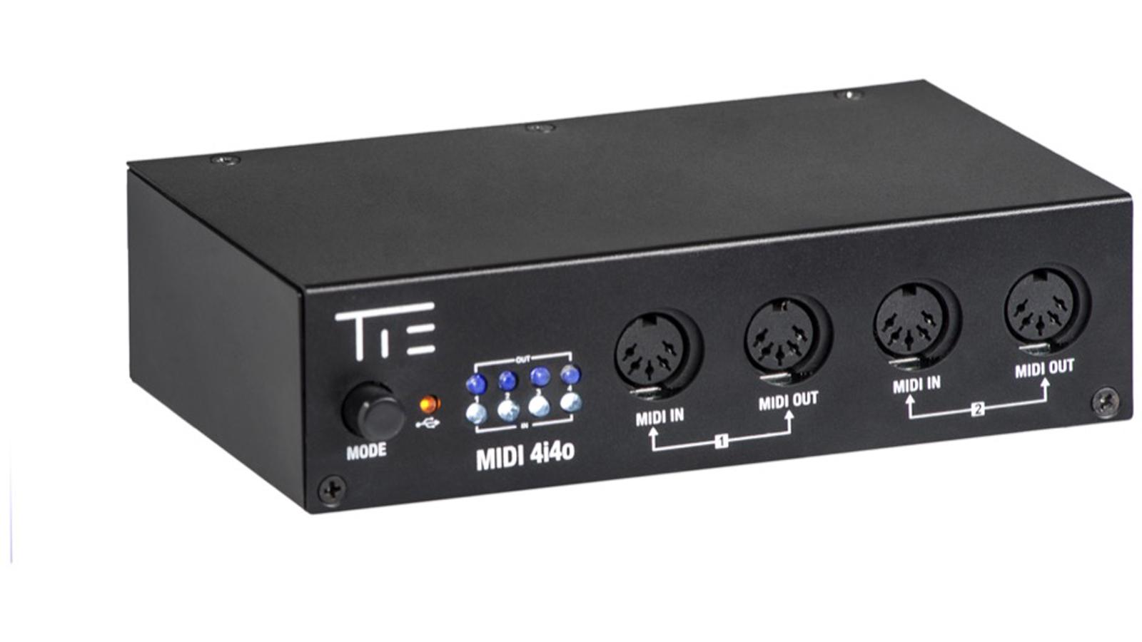 Tie Audio MIDI Interface 4i4o Studio TIE Audio