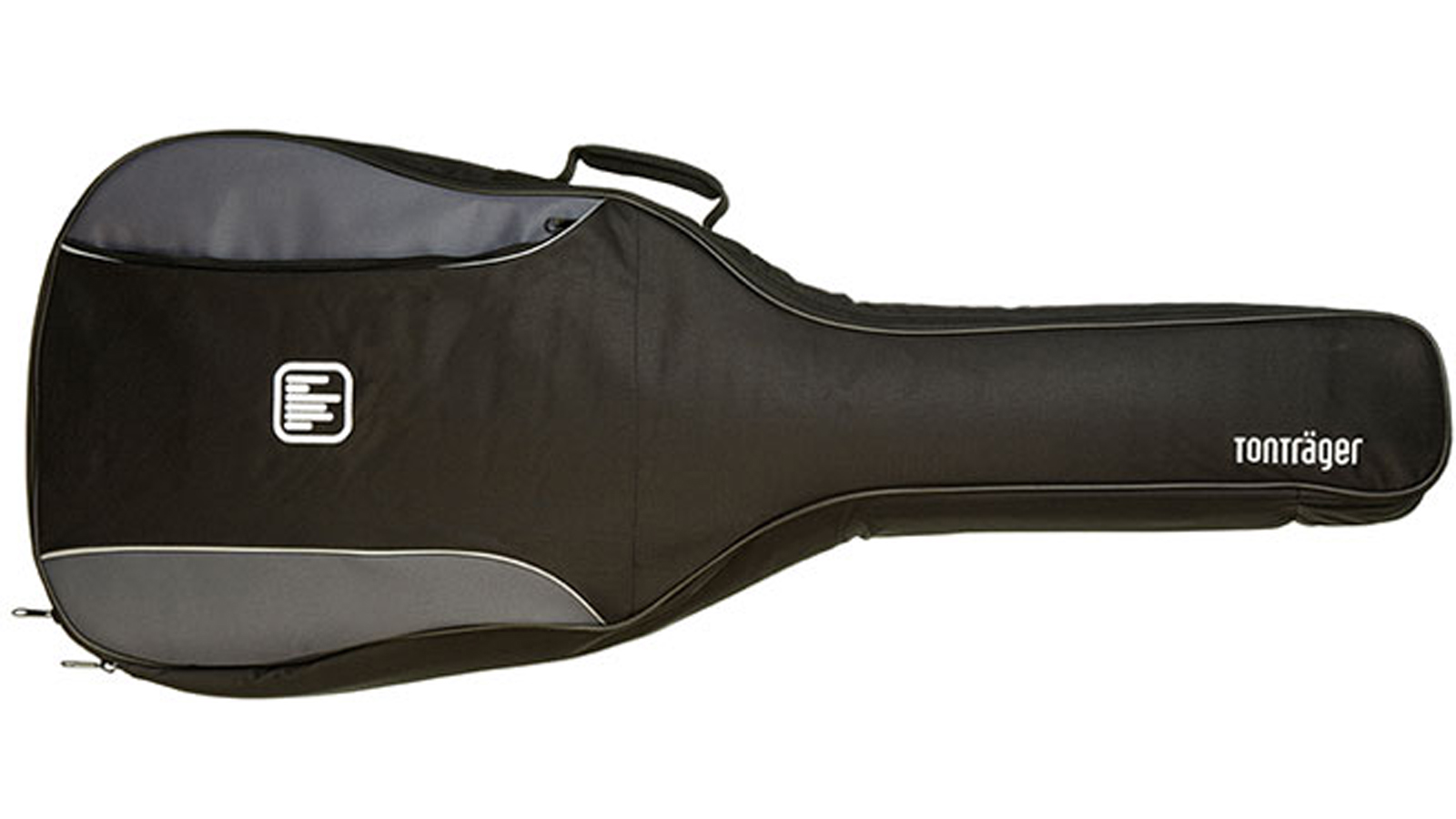 Tonträger Gig Bag Konzertgitarre 1/2 grau/schwarz