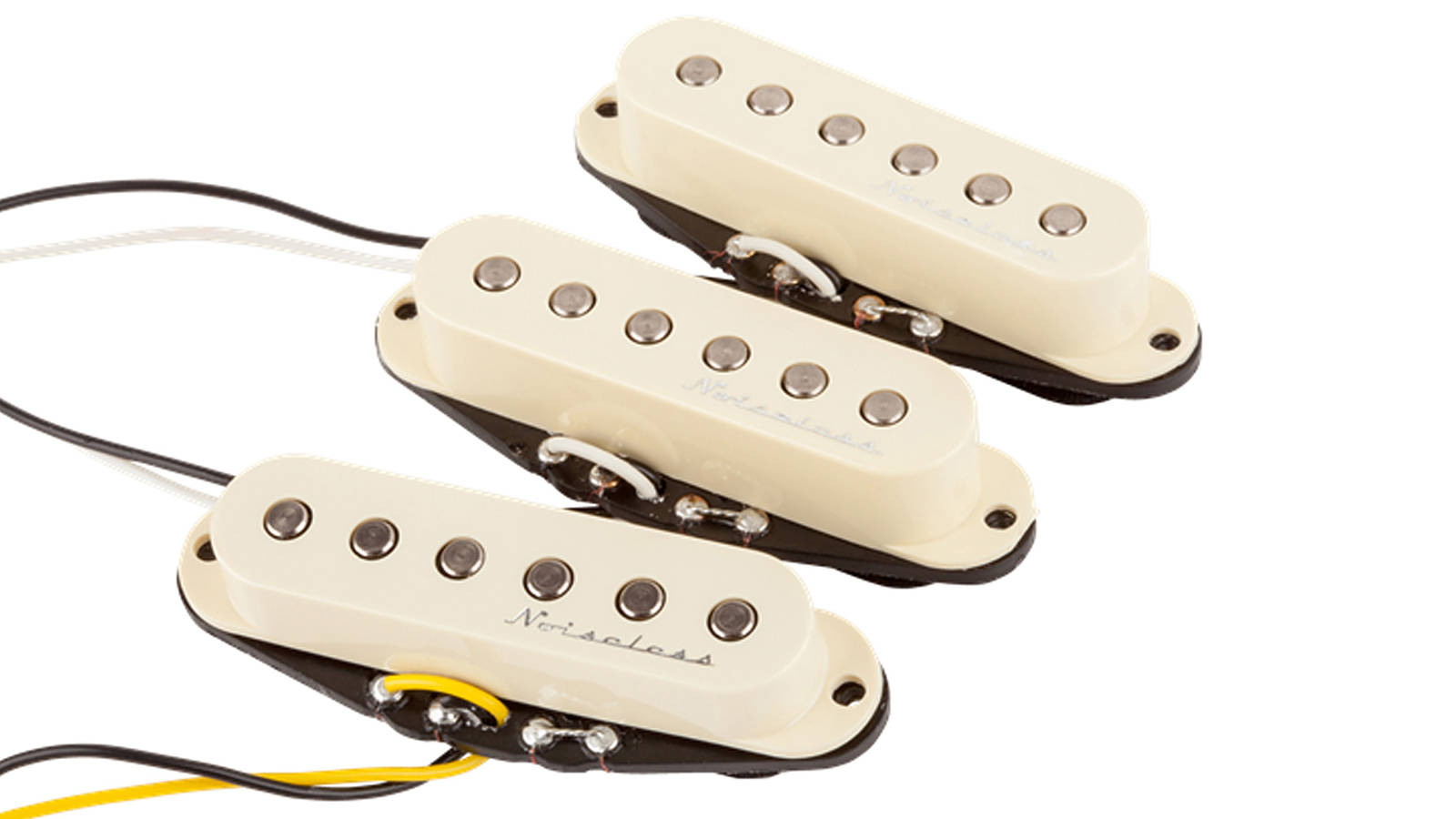 Fender Hot Noiseless Strat Single Coil Pickup Set