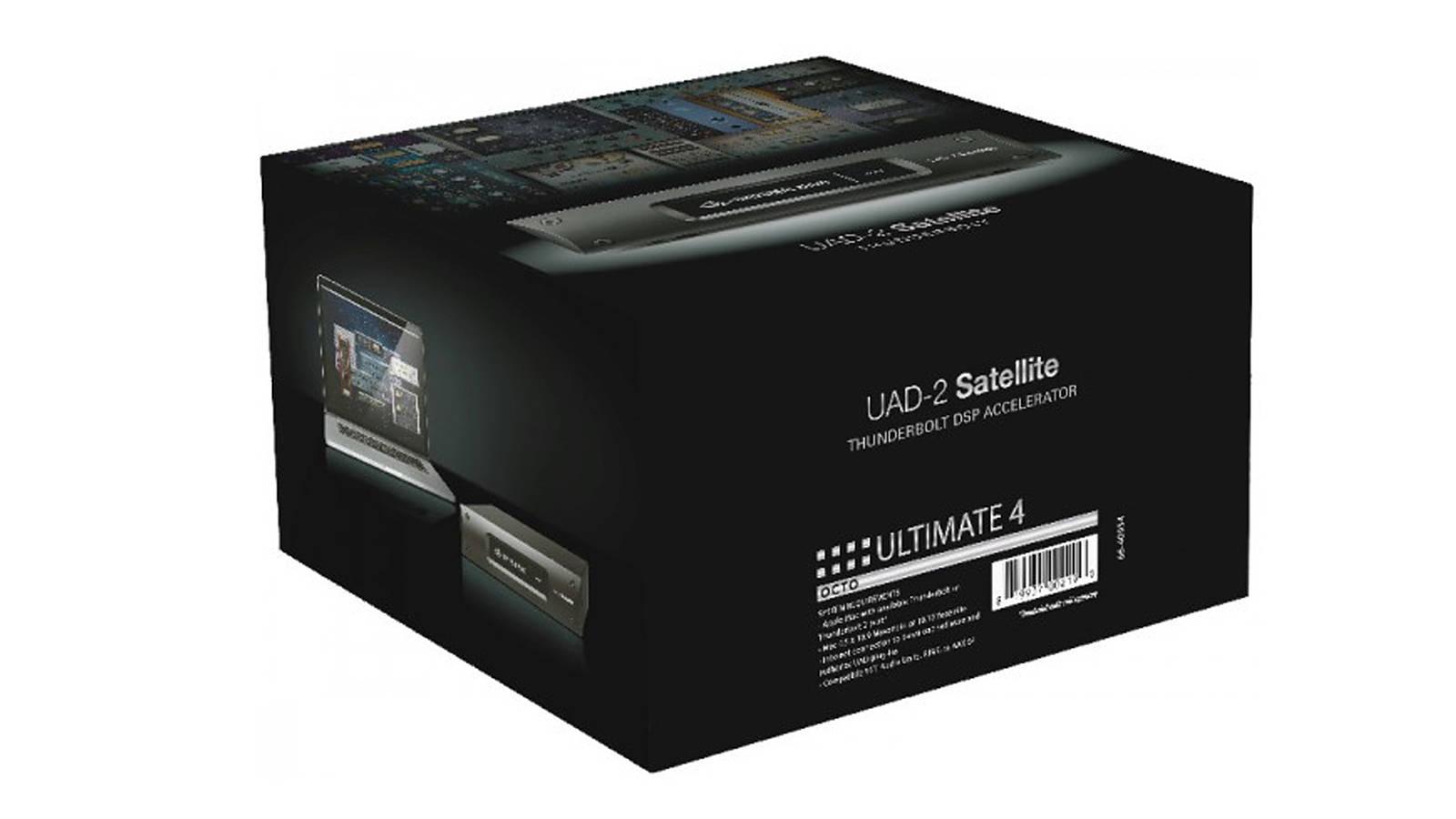 Universal Audio UAD-2 Octo Satellite Thunderbolt Ultimate 4