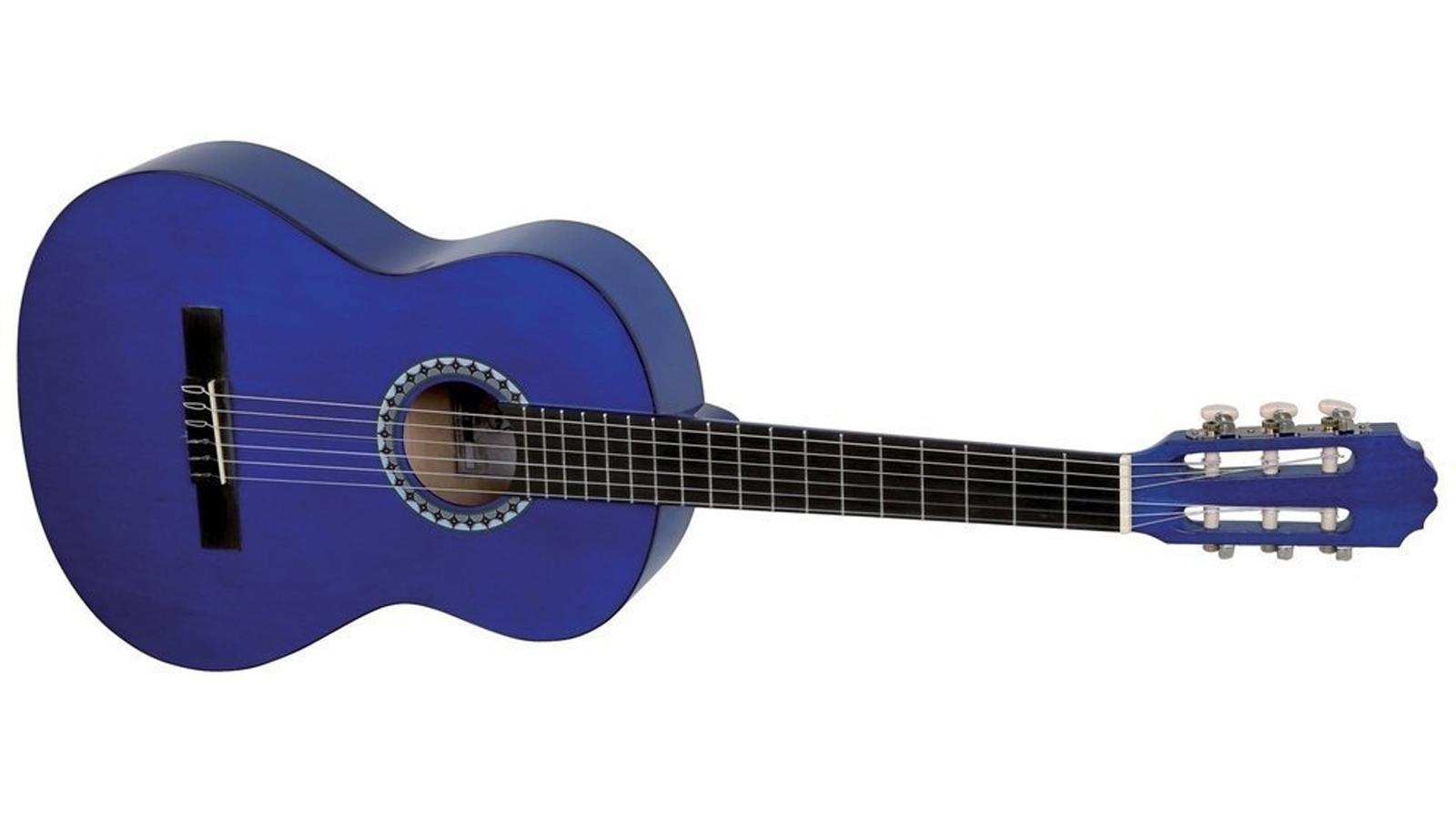 VGS Konzertgitarre 1/2 blau Basic