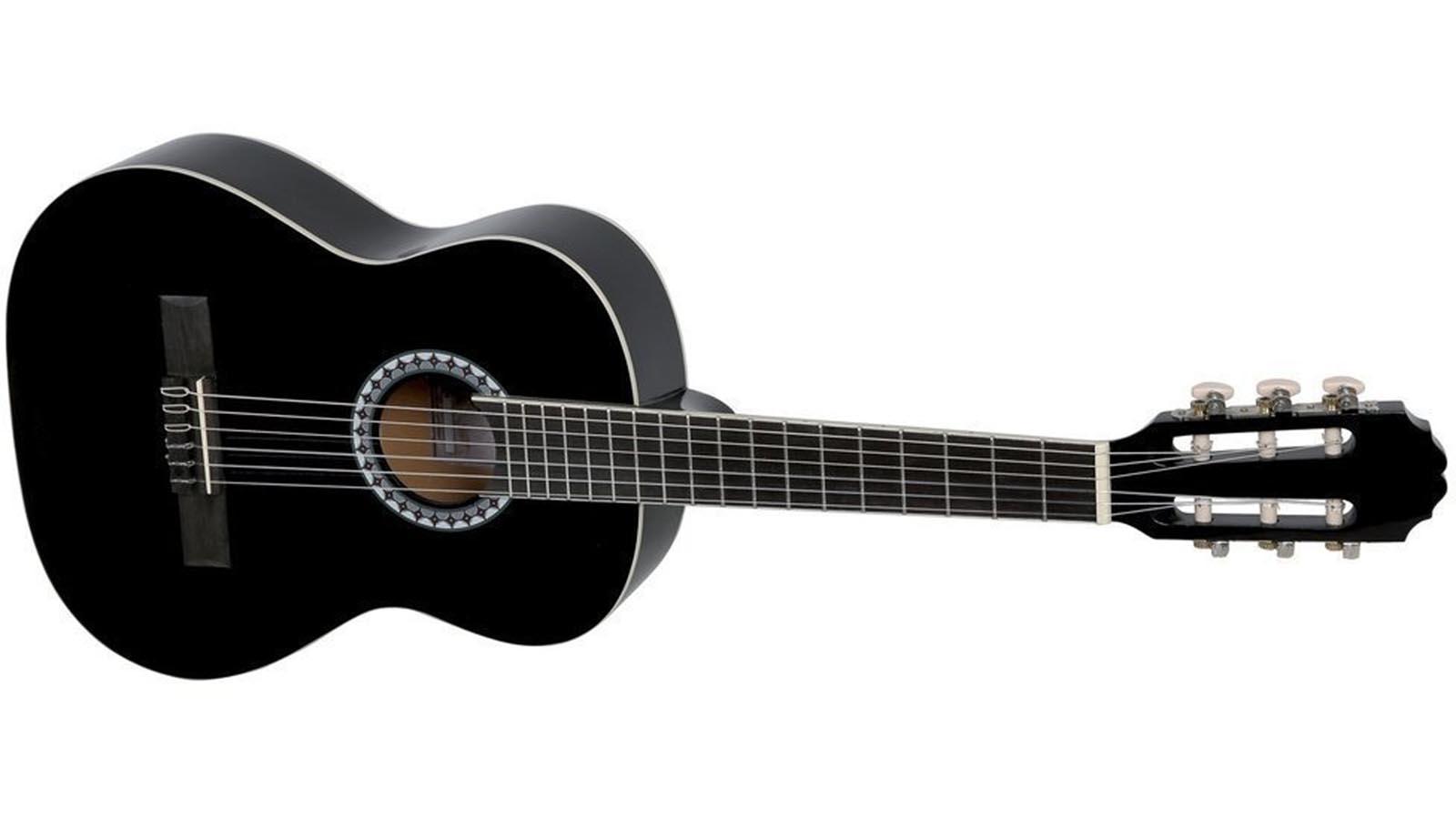 VGS Konzertgitarre 1/2 black Basic