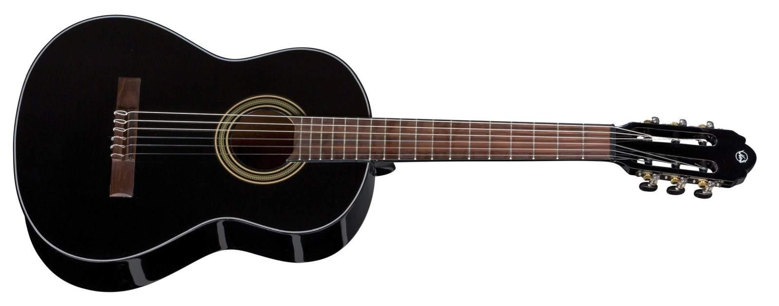 VGS Konzertgitarre 3/4 Student black