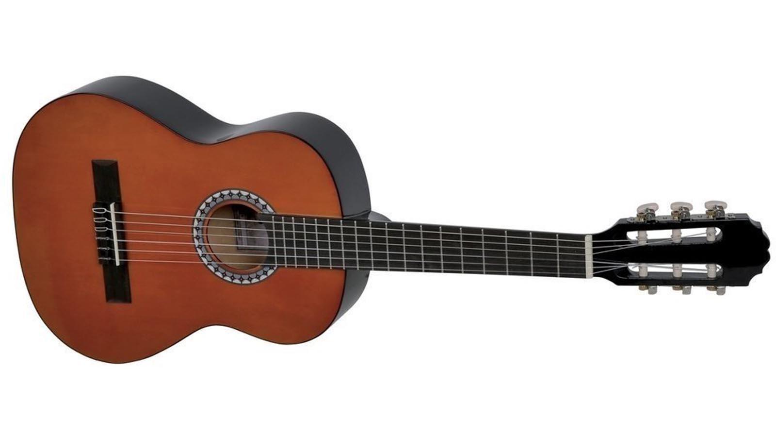 VGS Konzertgitarre 1/2 honig Basic