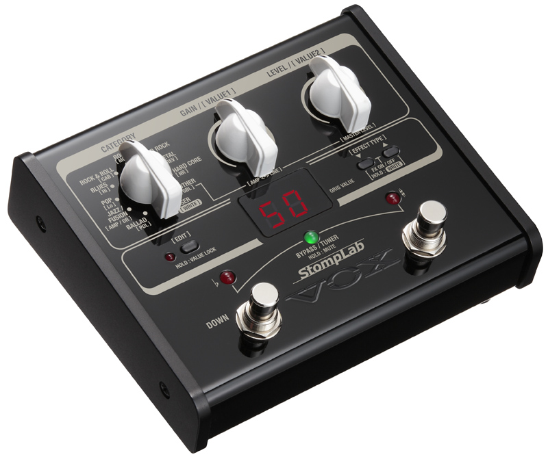 Vox StompLab IG Multieffekt E-Gitarre
