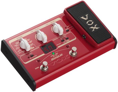 Vox StompLab IIB Multieffekt E-Bass