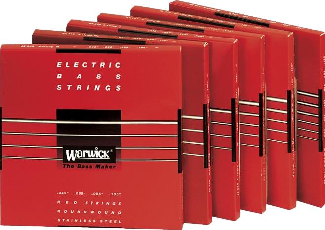 Warwick RED Label Strings Bass 045-105