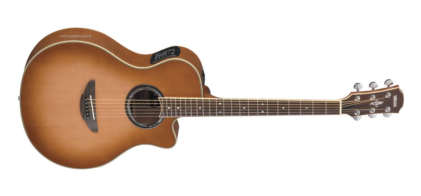 yamaha apx 700 sdb elektro akustik gitarre. Black Bedroom Furniture Sets. Home Design Ideas