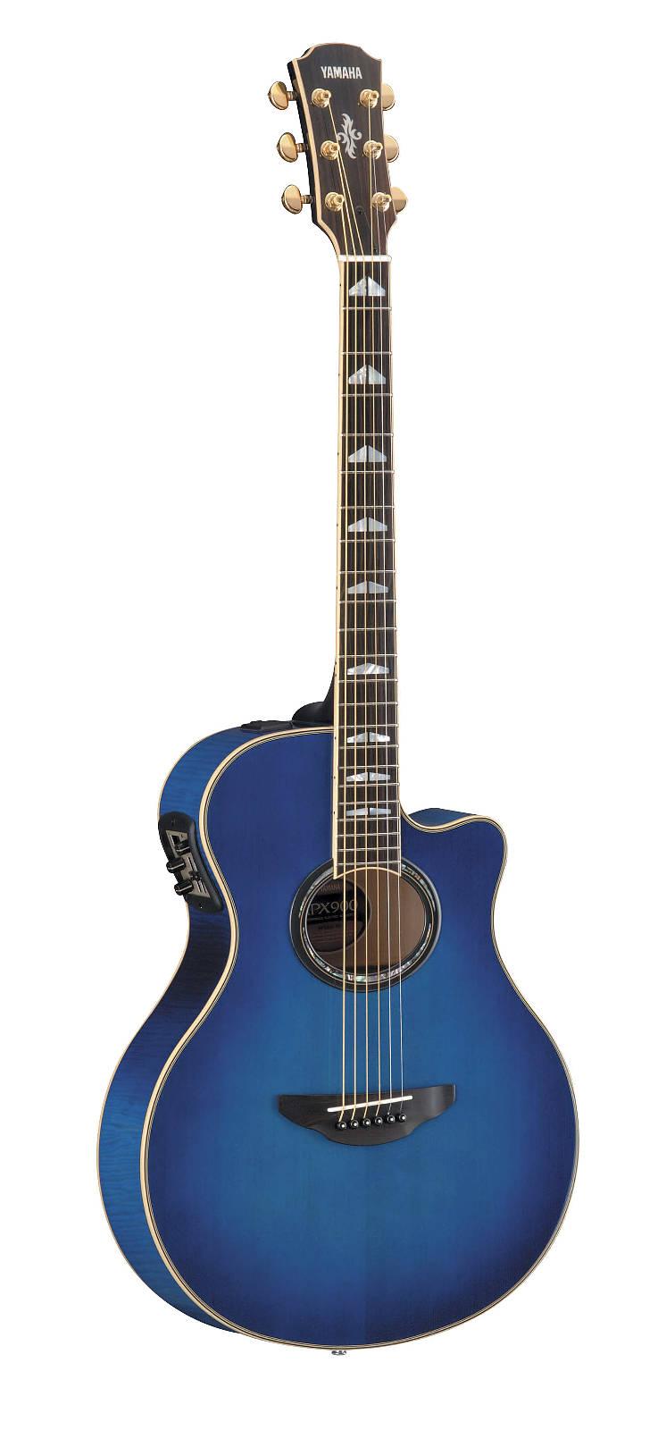 yamaha apx 900 um elektro akustik gitarre ultramarine. Black Bedroom Furniture Sets. Home Design Ideas