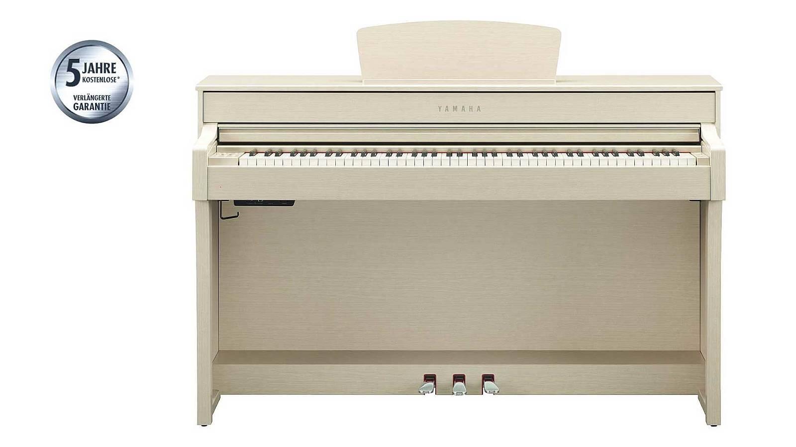 Yamaha CLP-635 WA Clavinova white ash