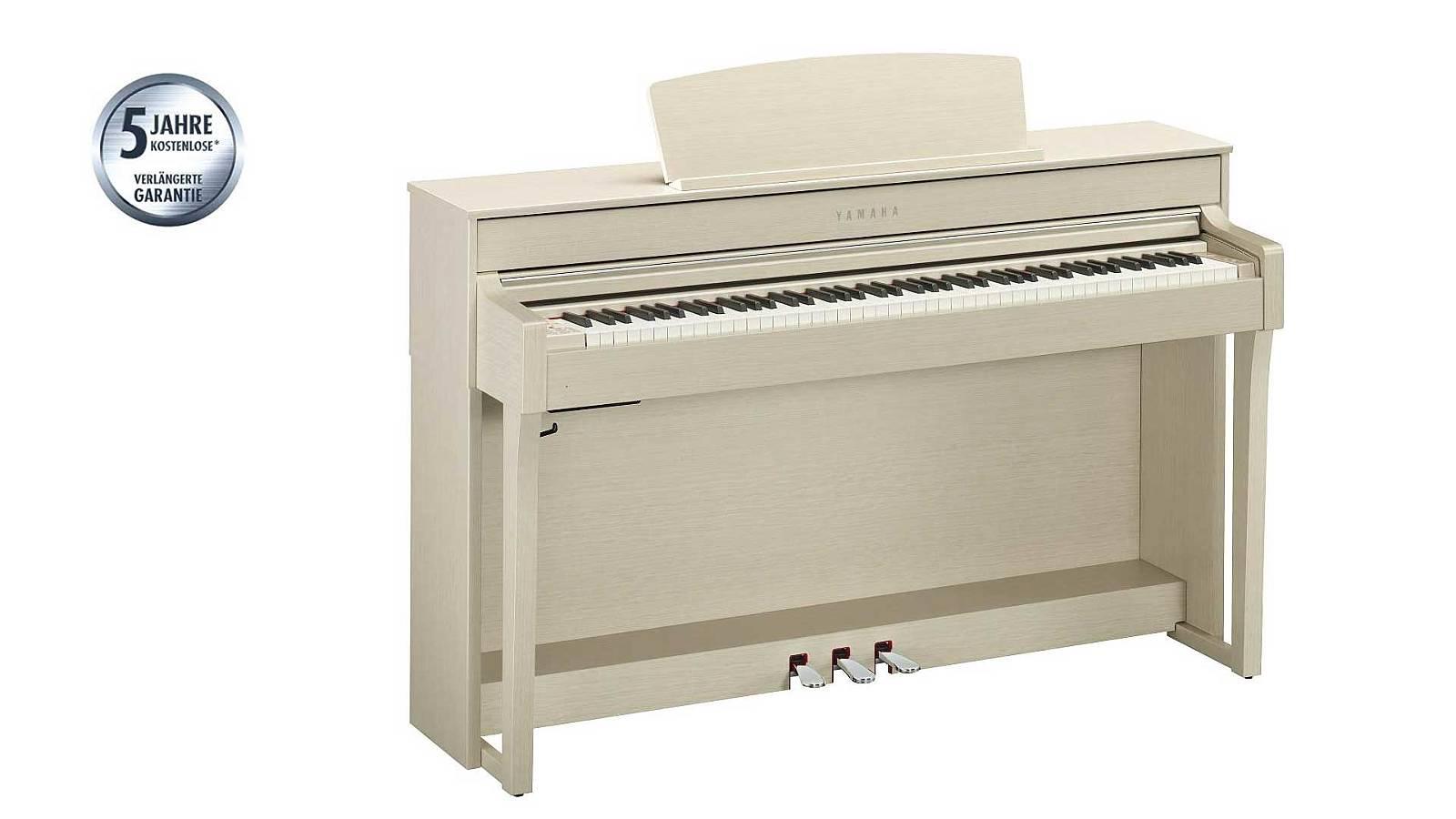 Yamaha CLP-645 WA Clavinova white ash