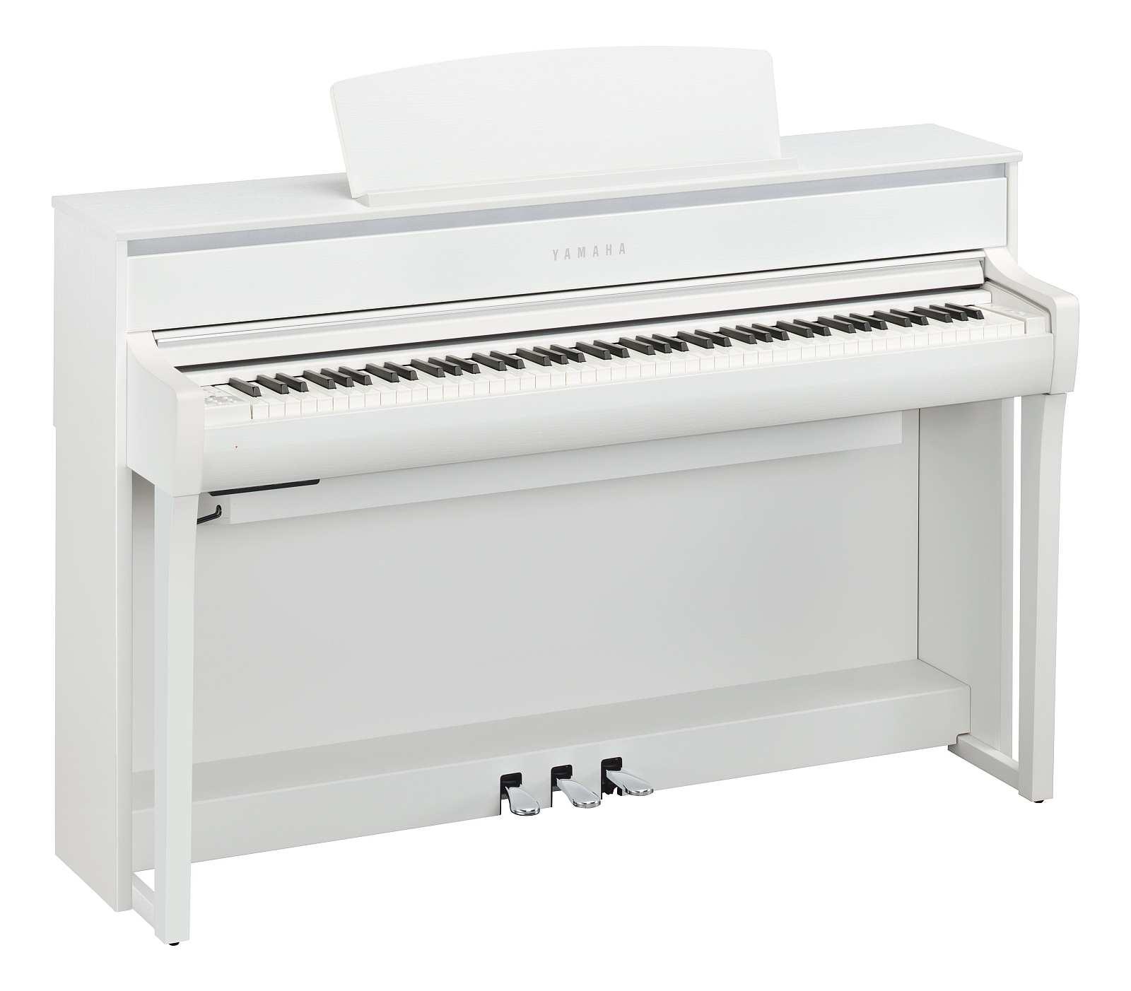 Yamaha CLP-675 WH Digitalpiano inkl. Aufbau