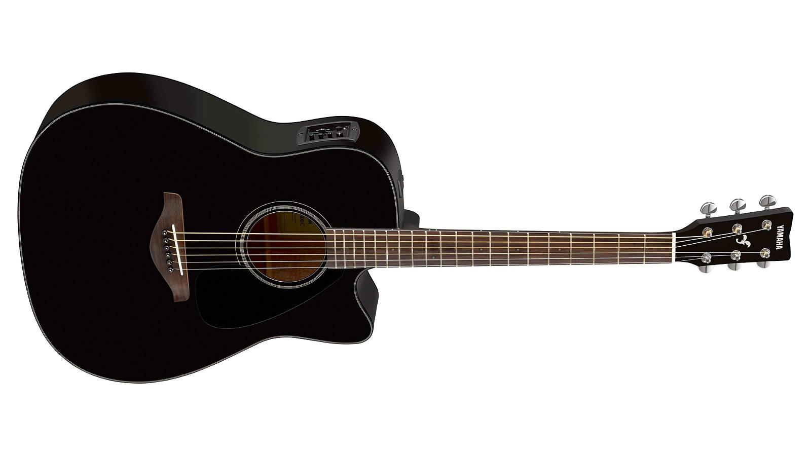 Yamaha FGX800C BL Westerngitarre Black