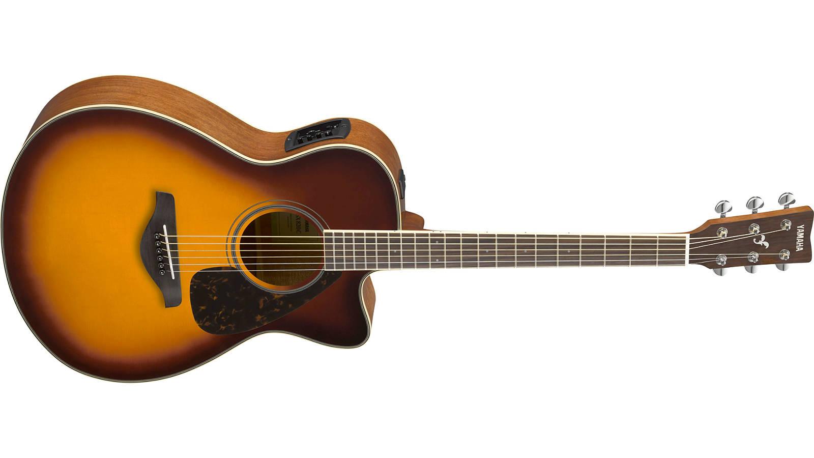 Yamaha FSX820C BS Westerngitarre Brown Sunburst