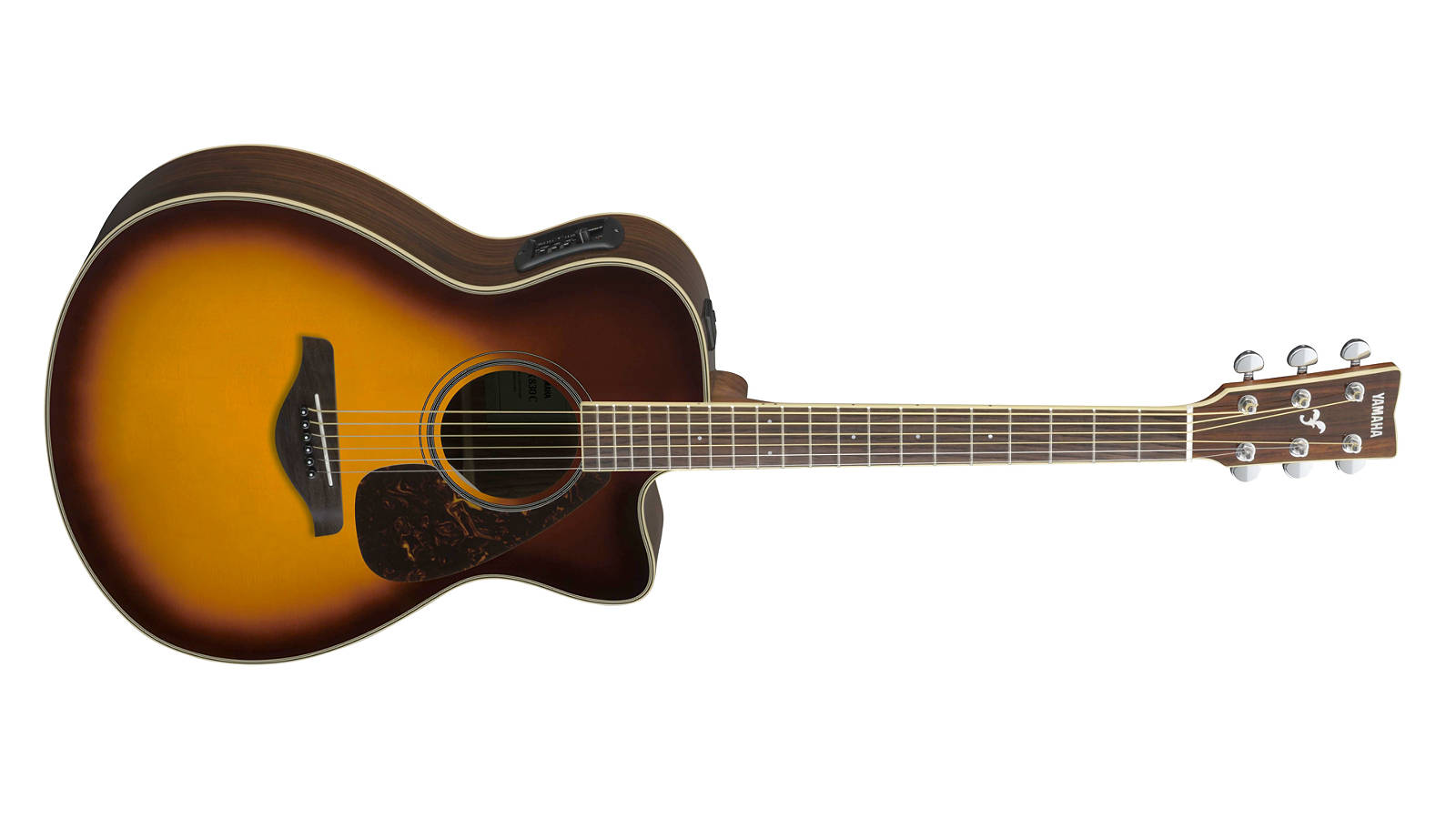 Yamaha FSX830C BS Westerngitarre Brown Sunburst